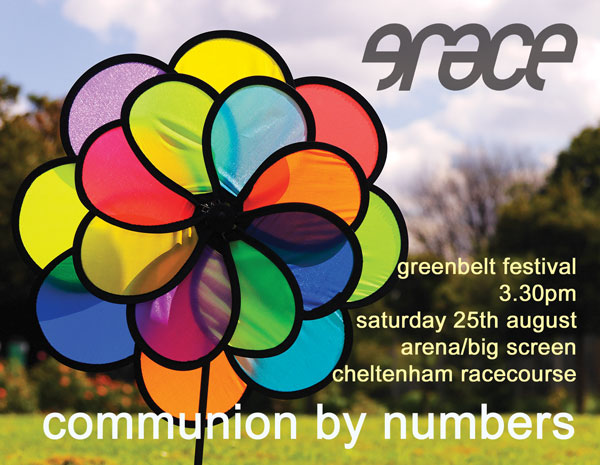 Communion by Numbers at Greenbelt '07 flyer