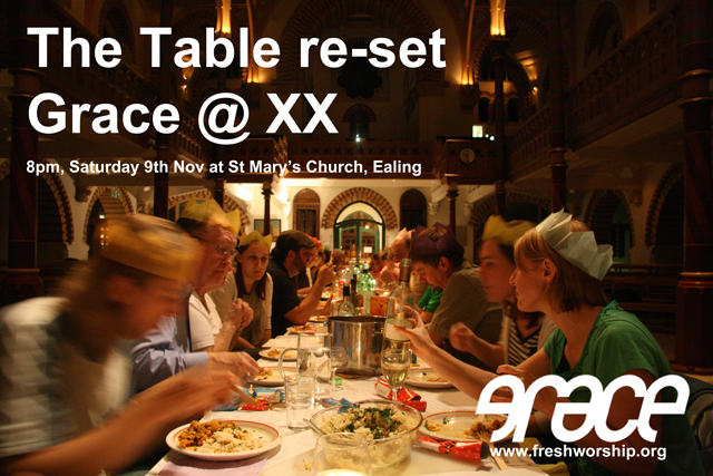 The Table  re-set Grace @ XX 2013 11 09 (2)