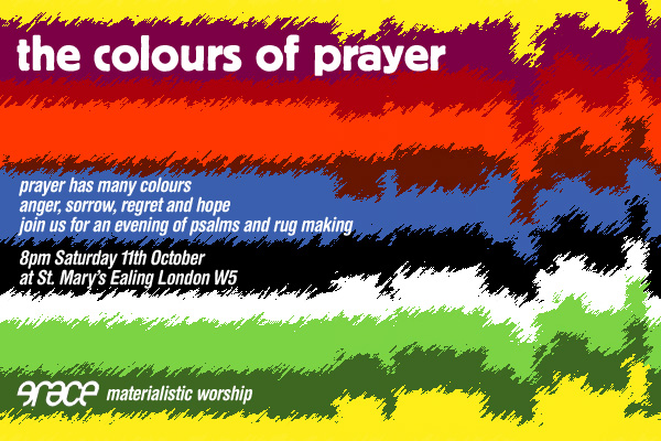 The Colours of Prayer flyer