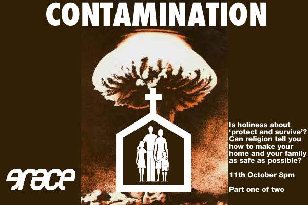 contamination flyer
