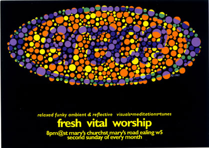 Flyer 'Dots' Sept-Dec 1998 front