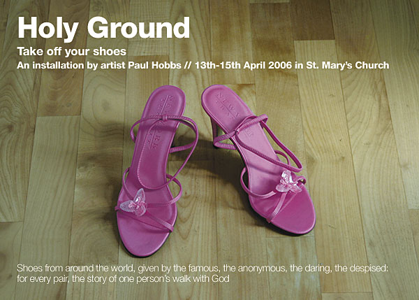 holy ground flyer