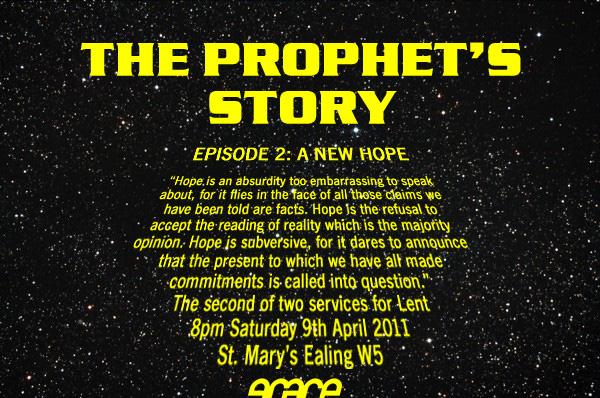 grace prophet's story 2 flier