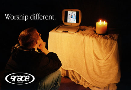 Flyer 'Worship Different'  Sept 2001 - Aug 2002