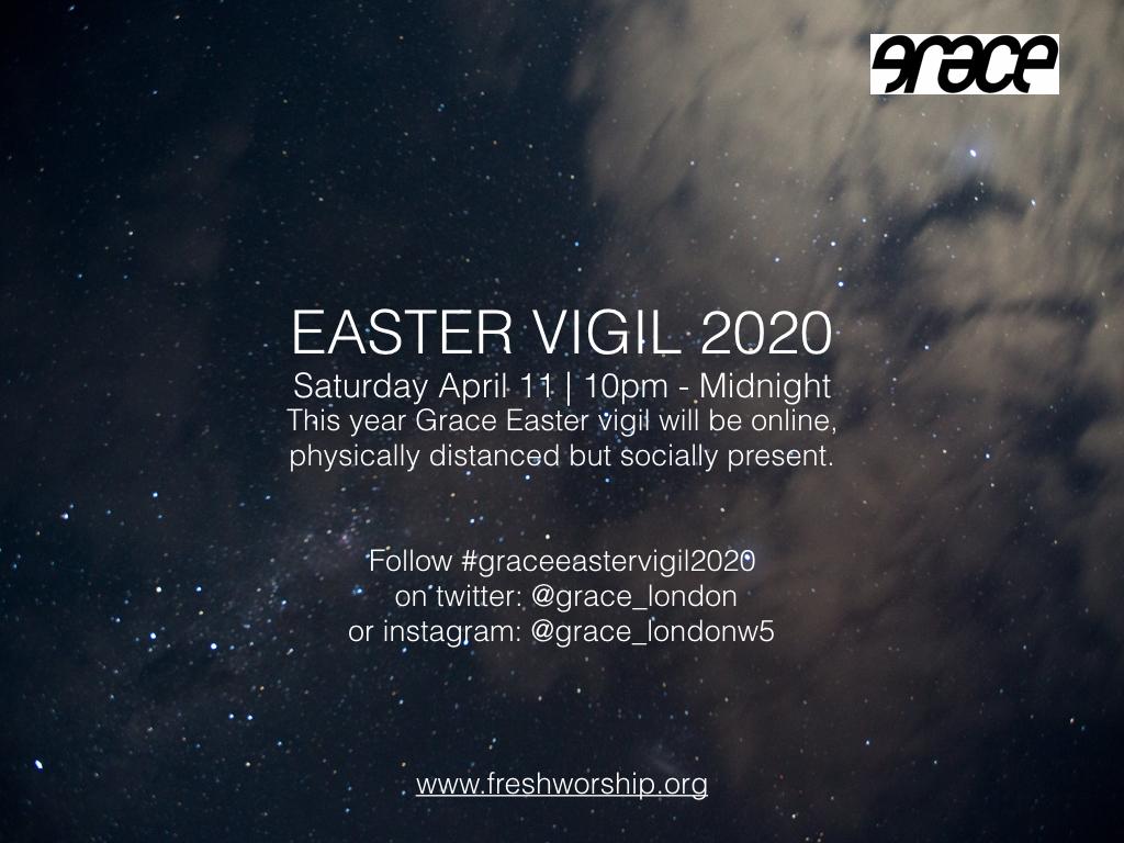 grace easter vigil flyer